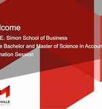 Maryville University Online Accounting Webinar – Spring 2017