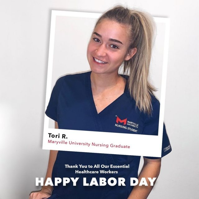 This #LaborDay, we're taking time to celebrate our brave, essential healthcare workers on the front lines. We appreciate you for all you do.   Tag a healthcare worker in the comments to show your support. ❤️   #maryvilleonline #maryvilleuniversity #maryvilleu #nursingstudentlife #nursinglife #nursingstudent #healthcare #healthcareers #healthcareassistant #healthcaretips #healthcareadministration #healthcaremanagement #healthmanager #medical