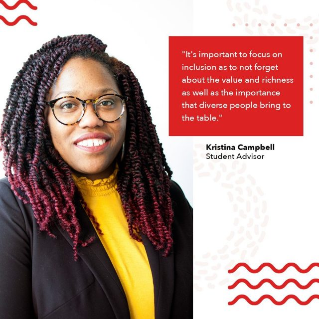 """""""Diversity in 2020 is understanding, accepting, and respecting that every person and/or group is uniquely different due to their perspectives and cultural characteristics,"""" says Kristina.   Maryville does not take a """"one size fits all"""" approach to the student body. Tap the link in bio to find student organizations to join, attend virtual events, and view additional resources from the Office of Diversity and Inclusion.   #maryvilleonline #maryvilleuniversity #maryvilleu #diversity #diversitymatters #diversityandinclusion #inclusion #inclusionmatters #bipoc #poc #representationmatters #diversityintech #diversityinstem #diversityinmedicine #diversityinmedia #diversityintheworkplace"""