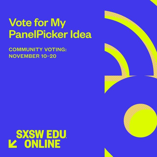 """@SXSWEDU PanelPicker voting has commenced and our very own Dr. Lombardi is in the running! In his panel, Dr. Lombardi looks to explore the """"New University"""" model which favors learning design and technology integration over traditional curriculum. 🧑🎓   Help us share Maryville University's vision of the new age of perpetual learning! Now until 11/20, VOTE for the """"Behold, The 40-Year Degree, Higher Ed's New Future"""" panel – link in bio!☝️ #SXSWEDU"""