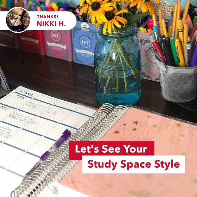Congrats to @heuringnikki, an art teacher and dog mom who's recently been accepted into the doctorate program at Maryville University.   Nikki's colorful desk setup got us wondering—is your study space still *this* stylish this far into the semester? Post a photo using #MaryvilleOnline.   #maryvilleuniversity #maryvilleu #forwardprogress #movingforward #nextstep #takethenextstep #keepmoving #lovinglife #keepitreal #goodvibes #newchapter #growth #trustyourself #changeyourlife #focusonyourself #befearless #challengeyourself #fulfillyourpurpose #followyourdreams #makeithappen #makeachange #improveyourlife #nextchapter #nextchapterinlife #nextchapterbegins #studyspace #desksetup