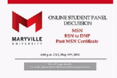 Online Student Panel Discussion