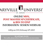Maryville Online Nurse Practitioner Programs Information Session