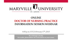 Maryville Online DNP Information Session