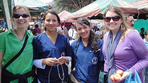 Nurses networking.