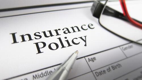 Insurance paperwork.