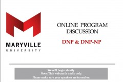 DNP Information Session with Dr. Mariea Snell