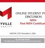 MSN & Post-Master's NP Certs Information Session with Karen Lesyna