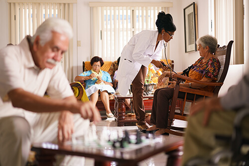 Nursing home administrators oversee operations, manage finances, and make sure residents receive the best possible care.